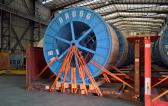 ITS Ship Large Cable Reels to the UAE
