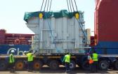 Gulf Agency Services Discharge 15 Transformers in Djibouti