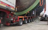 FREJA Successfully Handle Another Transport of Evaporation Units