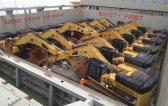 CTO do Brasil Ship Another 25 CAT Excavators to China