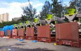OLA Groups Arrange Shipping of 36 Concrete Mixer Trucks