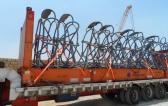 First Global Logistics Ship Crane Parts to Belgium