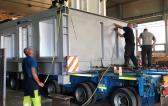 GRUBER & Gebrüder Weiss Complete Transport of Cooler