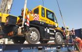 Cranes Shipping from Egypt to Buenos Aires, Argentina