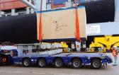 ScanMarine with 60 Ton Transport of Machinery