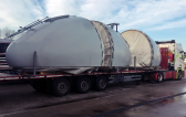 Ryano delivers Windmill Parts for Green Power