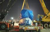 Vangard Logistics with 310 MT Heat Transformer Shipment