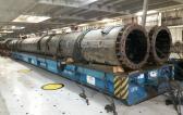 Wilhelmsen UAE Handles Import Shipment of Spud Columns