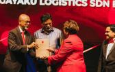 Ms. Puvaneaish of Kagayaku Logistics Receives KLSICCI Award