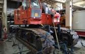 Global Power with Shipping of Crawler Crane for Cuchi Shipping