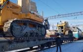 Goodrich with Transportation of Liebherr Excavator & Bulldozers