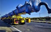 EXG with Unique & Challenging Move of 38m Long Regenerator