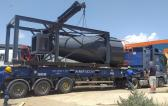Origin Logistics Handle Loading & Shipping of Metso Shredders