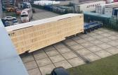 Europe Cargo Handle Shipping of Big 56tn Case