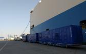 Wilhelmsen UAE with RORO Solution for Power Generation Equipment