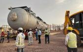 Transportation of 248mt Desalter Vessels by EXG