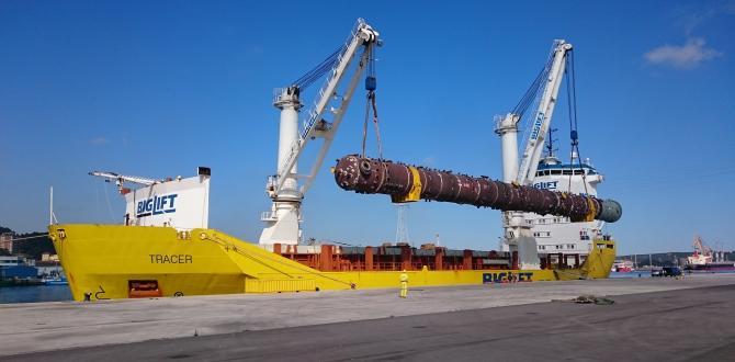 Coordinadora Report Outstanding Shipment of 6 Massive Columns