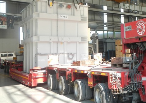Fortune Handle Transport of 120tn Transformer in Italy