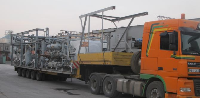 Farcont Work with Convoy Logistics to Relocate Methanol Plant from the USA to Ukraine