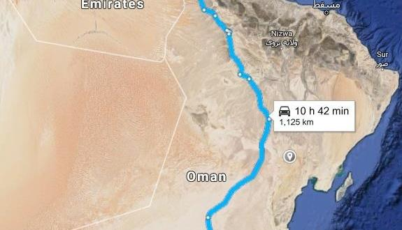 Khimji Ramdas Complete Cross-Border Transport of 2 Sets of Cargo from the UAE to Oman