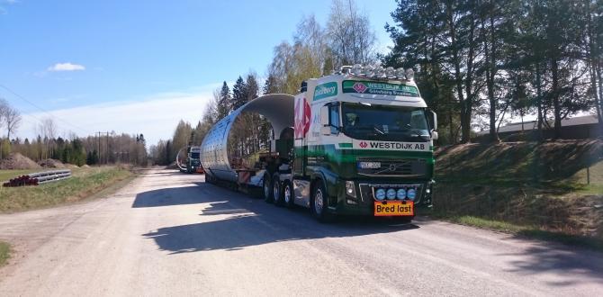 Experts in Heavy Haulage Transport - Westdijk Sweden AB
