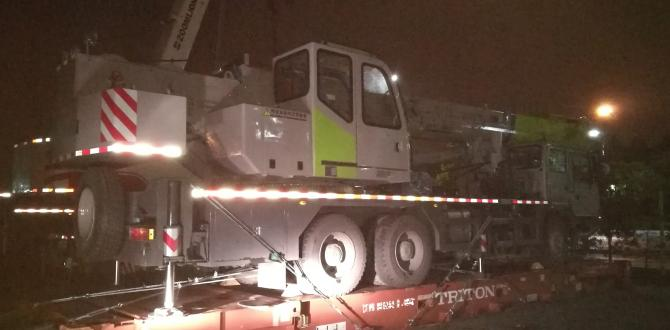 OLA Logistics Handle Oversized Transport of Truck Cranes
