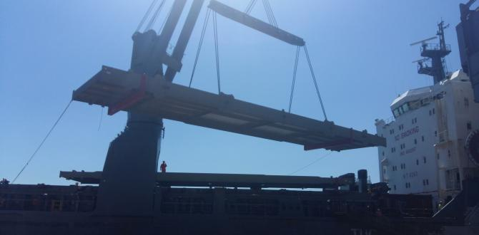Delta Maritime Deliver OOG Construction Structures to Northern Greece