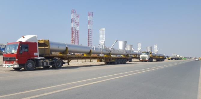 WSS Handle Shipment of Long Flare Risers from the UAE to Saudi Arabia
