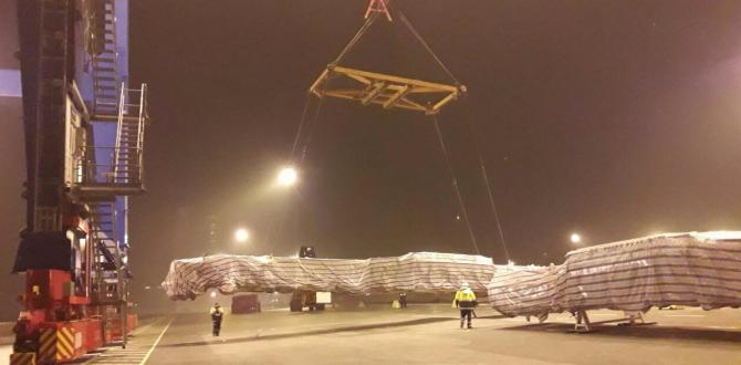Farcont Complete Transportation of Dissembled Oil Rigs from China to Ukraine