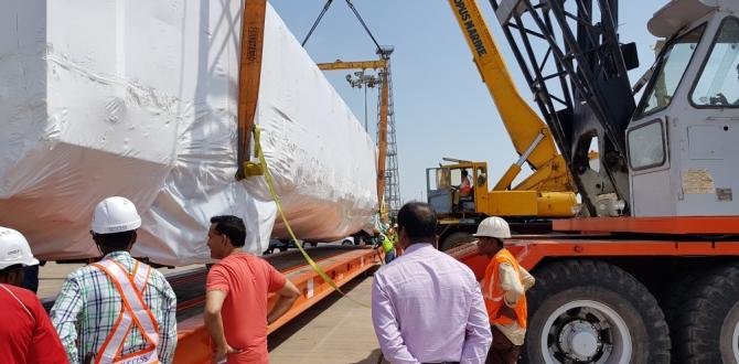 Railway Train Compartments Shipped from India to Mexico by Vangard