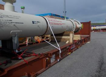 W.I.S. with OOG Shipment from Italy to South Korea