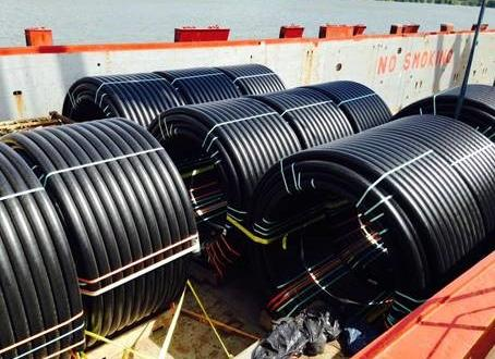 Anker & LEMAN Ship Pipe Coils from the USA to Colombia