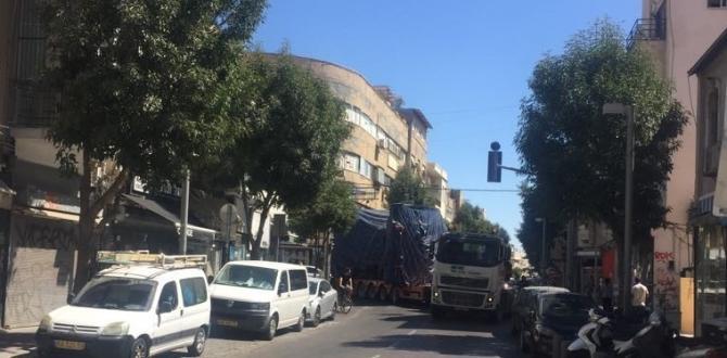 Kamor Logistics Delivering Tunnel Boring Machines to Tel Aviv