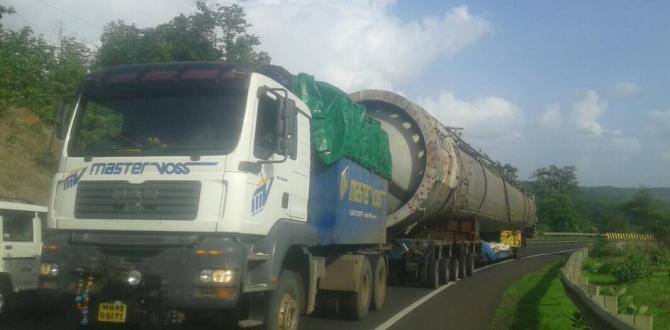 EXG Complete Transportation of Large Absorber in India