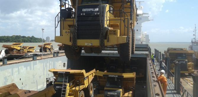 CTO do Brasil Ship Caterpillar Trucks to China