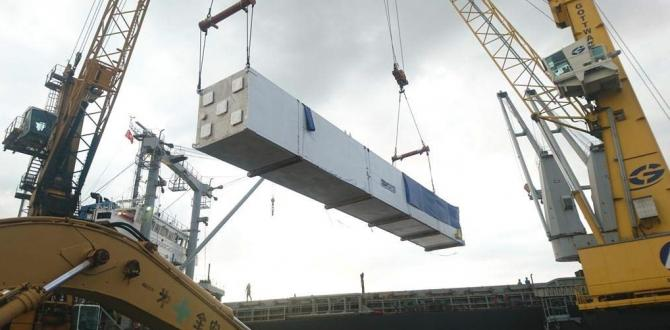 Cuchi Shipping with Transport of Heat Exchanger Cold Boxes