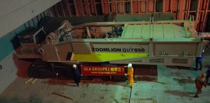 OLA Groups Logistics Handle Shipping of Another Crawler Crane