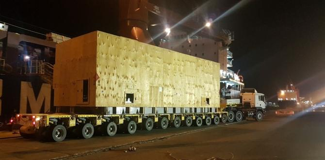 M-Star Deliver Oil Field Equipment in Oman