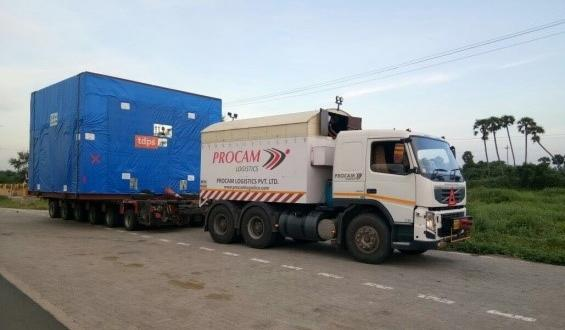 Procam Successfully Complete Project Cargo Move to Vietnam