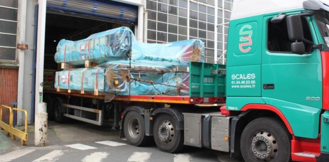 Procam Logistics & ABL NV move 4 x 600 T Second Hand Press Machines