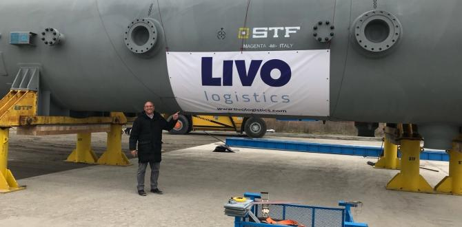 Livo Logistics Executing Multimodal Move of 2 Oversized Heaters