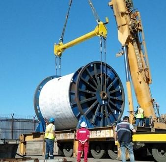 BATI Group Delivers Large FOC Reels for TANAP Project