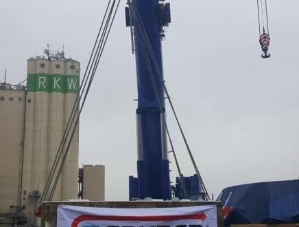 GRUBER in Bremen Handle Heavy Loads from Kehl to Porto Marghera
