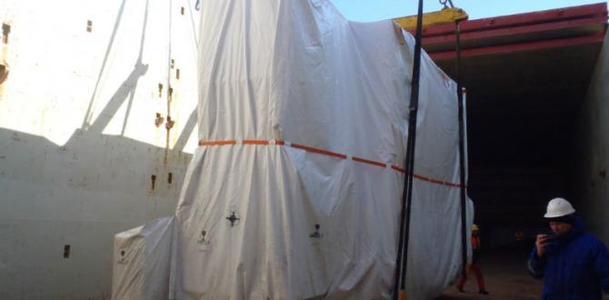 Europe Cargo Load MV. Rochefort at Antwerp Port