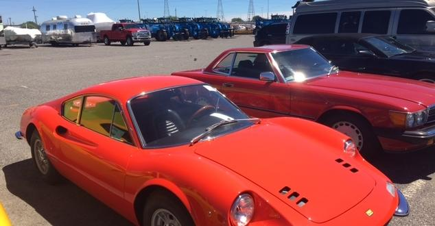 Europe Cargo Arrange Import of Vintage Ferrari