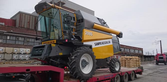 CF&S Transporting 50 Sampo Harvesters by Rail