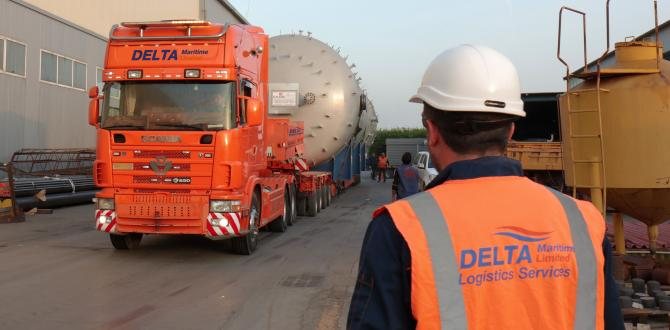 Delta Maritime with Land & Port Logistics in Thessaloniki