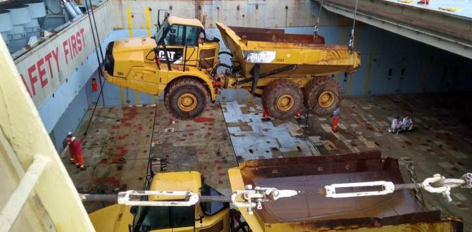 CTO do Brasil Ship 35 CAT Trucks & Excavators to South Africa