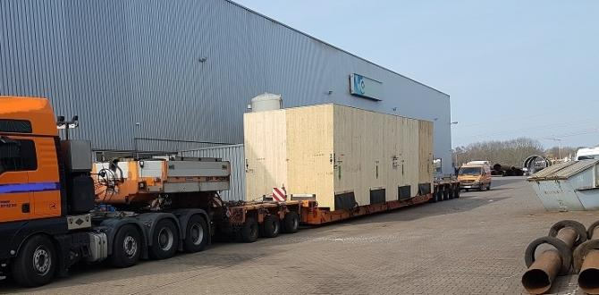 GRUBER Logistics Move Heavy Heat Exchangers to Japan