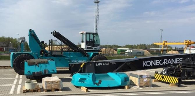 CF&S Transports New Konecranes Container Loader by Rail